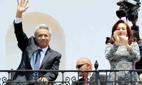 Moreno contradice a la Canciller pero la mantiene en su cargo a pesar del papelón internacional