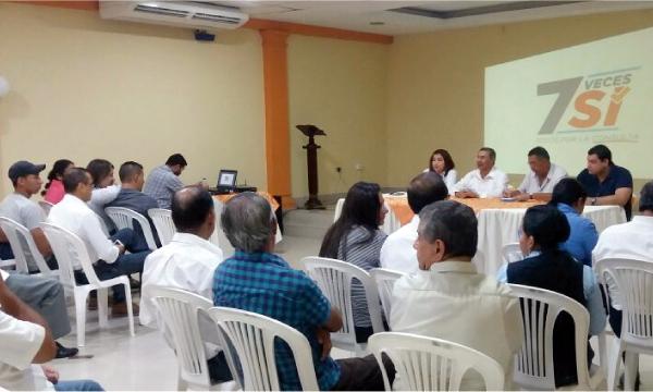 En Manabí CREO coordina su acción política para la difusión del SI por la Consulta Popular