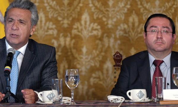 Ministro de Economía revela que Moreno conocía del uso irregular de los $300 millones
