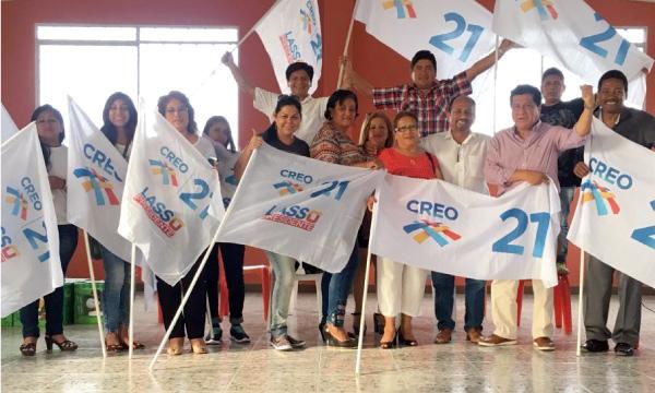 Directiva de CREO Santa Elena acelera su trabajo territorial para fortalecer la Consulta Popular