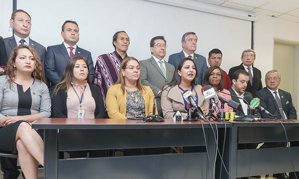 CREO denuncia a Ministro de la Torre y planifica el juicio político para que responda a los ciudadanos