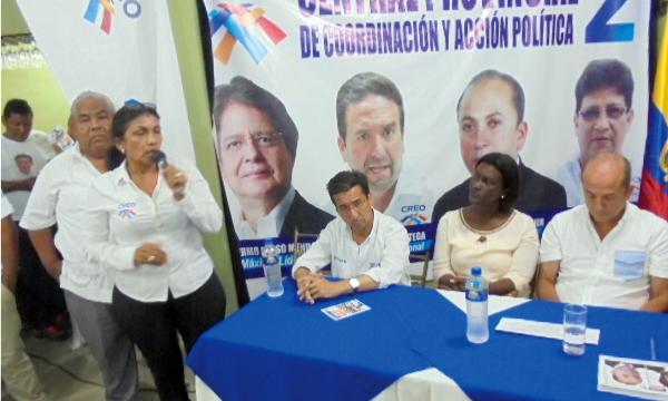CREO apertura una nueva central política en Durán para reforzar el proceso de cambio en el Ecuador