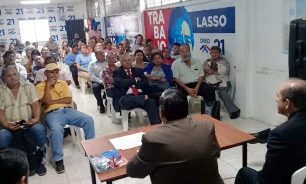 CREO Guayas capacita a su dirigencia sobre el proceso de conformación del Consejo de Participación