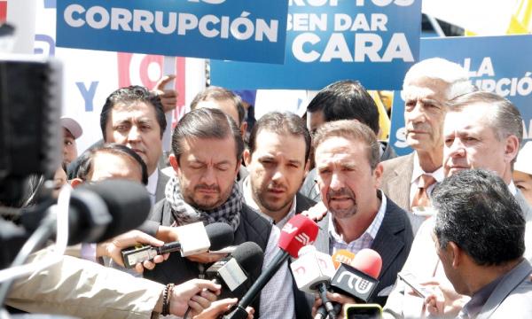 Carlos Baca llama a César Monge para que reconozca su denuncia por el atraco de los medios incautados