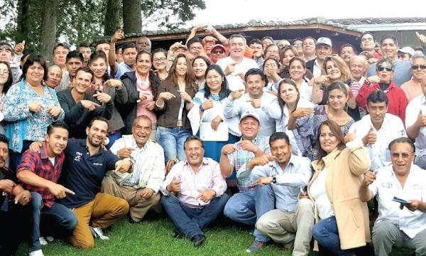 Asambleísta de Pichincha rindió cuentas en la parroquia de Tabacundo