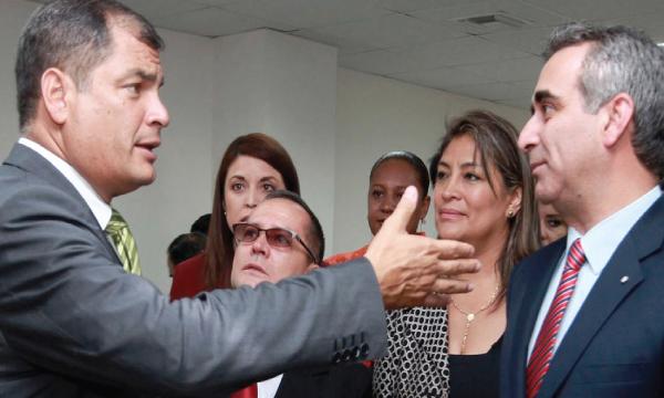 Quien manejó la justicia con Correa se autocalifica como decente y anuncia no tenerle miedo al Concejo de Participación