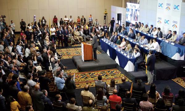 Movimiento CREO recibe la adhesión de mil nuevos militantes que se unen al proceso de cambio