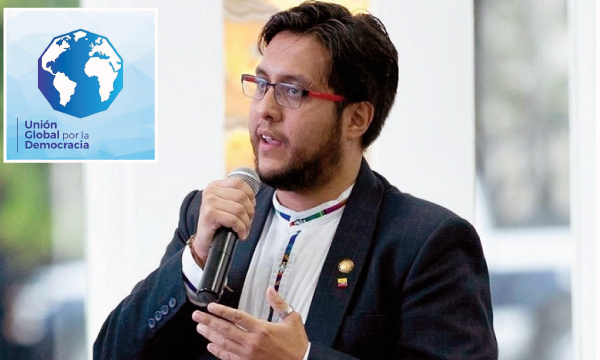CREO fortalece sus relaciones internacionales integrándose a la Unión Global por la Democracia