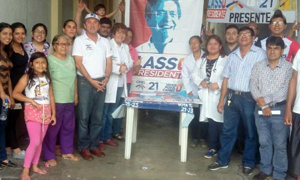 Movimiento CREO continúa con sus brigadas médicas de Responsabilidad Social en la provincia de Guayas