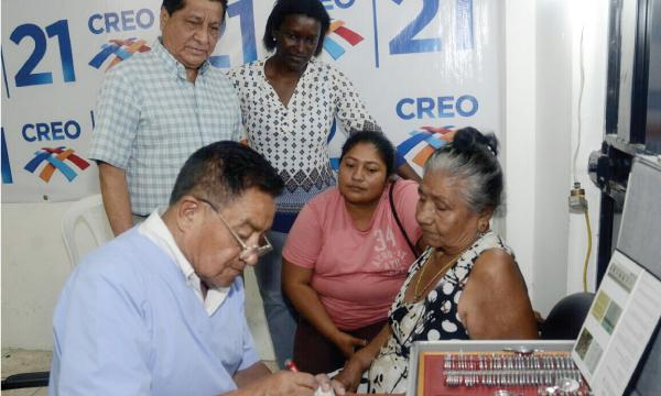 CREO Guayas lleva adelante su jornada médica de Responsabilidad Social