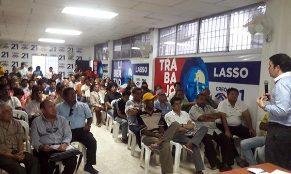 CREO Guayaquil fortalece el trabajo territorial en los barrios de la ciudad