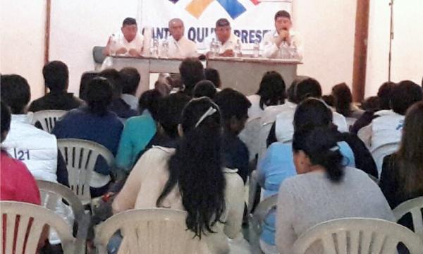 CREO Napo continúa su trabajo de fortalecimiento territorial de las bases frente al 2019