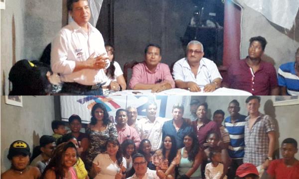En la Parroquia Tonsupa, CREO Atacames fortalece su frente de Jóvenes en Esmeraldas