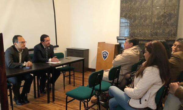 En Quito Asambleísta del Bloque de la Unidad por el Cambio rinde cuenta a sus mandantes