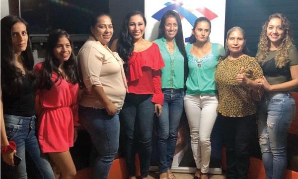 CREO Balsas posesiona a su Directiva Cantonal del Frente de Mujeres y continúa con su trabajo territorial