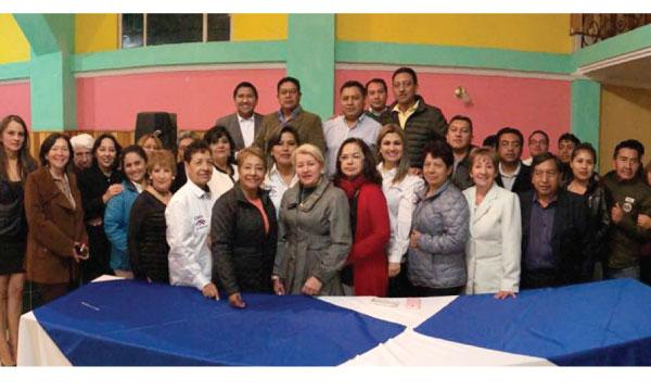 Desde la Parroquia Cotogchoa en Rumiñahui CREO trabaja con su directiva con miras al 2019