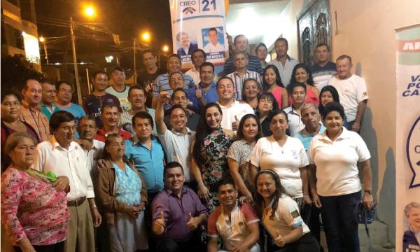 CREO El Oro fortalece su estructura en Arenillas y Santa Rosa