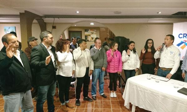 CREO Cuenca posesiona y fortalece su nueva estructura territorial de la Parroquia del Valle