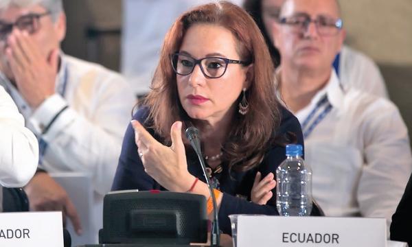 Canciller Correísta lamenta que la OEA haya excluido a Maduro en solidaridad al pueblo venezolano