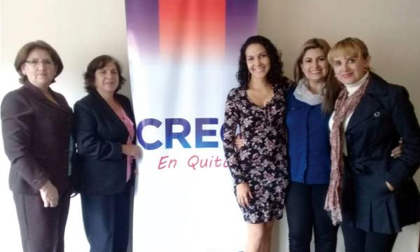 Frente de Mujeres de Pichincha coordina trabajo para el 2019