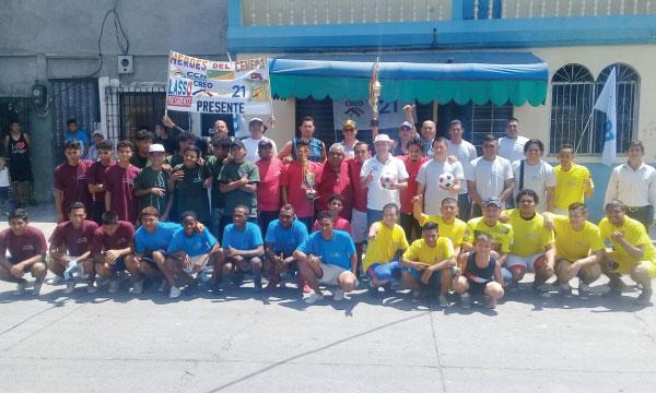 En el Guasmo Sur de Guayaquil CREO Guayas promueve el deporte barrial ciudadano