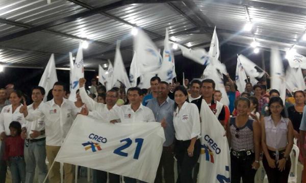 CREO Jama fortalece el proceso de crecimiento en Manabí y continúa su trabajo frente al 2019