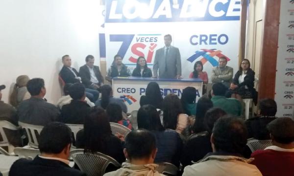 CREO Loja planifica en Asamblea su trabajo político con los 16 Presidentes Cantonales