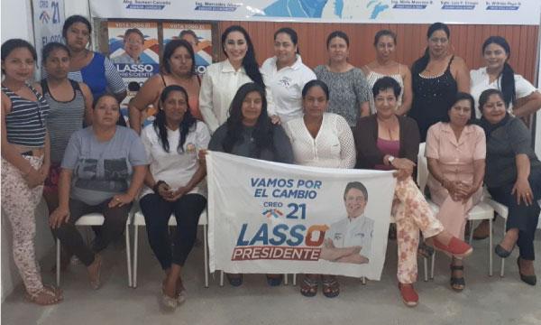 Nuevo directorio cantonal de Mujeres CREO continuará el trabajo de fortalecimiento en Machala