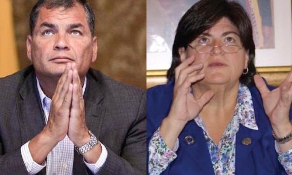 Correa y Ministra de Finanzas contradicen a Moreno y defienden que no se ha violado el límite de la deuda