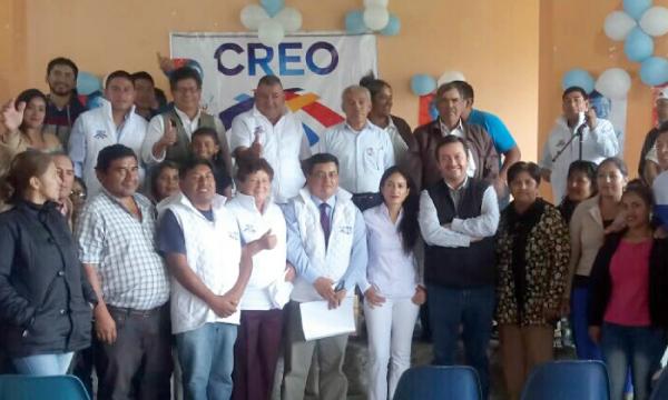 Asambleísta de CREO acompaña jornada de fortalecimiento político desde la provincia de Napo
