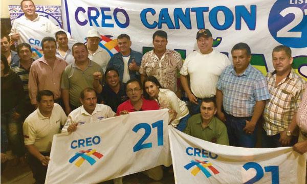 Desde Piñas la Directiva Cantonal de CREO acelera su trabajo de fortalecimiento territorial