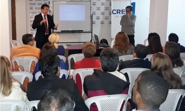 El Frente de Profesionales de Pichincha se capacita sobre los GADS
