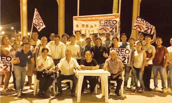 Desde Puerto Jelí CREO El Oro continúa el fortalecimiento territorial de sus estructuras Parroquiales