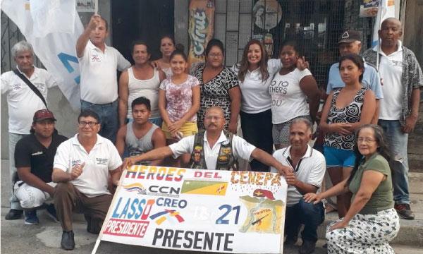 En la Isla Trinitaria de Guayaquil avanza el trabajo político territorial de CREO Guayas