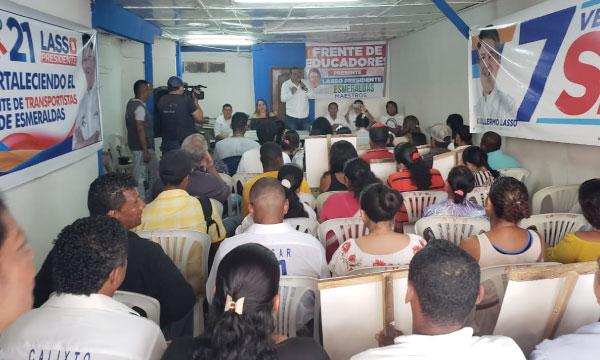 En Esmeraldas CREO trabaja con su estructura territorial y se prepara para las elecciones seccionales