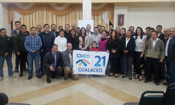 Asambleísta por Azuay trabaja con la estructura de CREO para el fortalecimiento de las bases cantonales