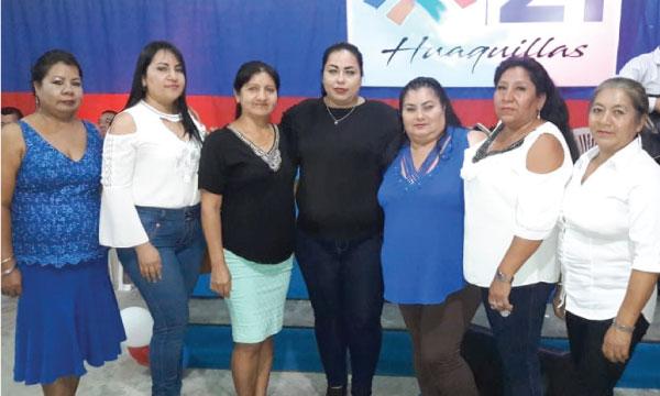 CREO felicita el nombramiento de la nueva Directiva Cantonal del Frente de Mujeres del Cantón Huaquillas