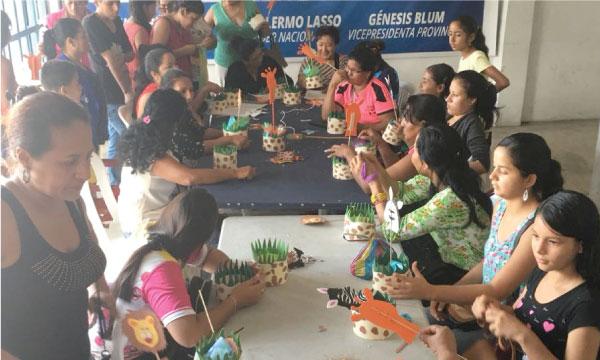 En Quevedo CREO culmina la segunda promoción y taller para micro empresarias de Los Ríos