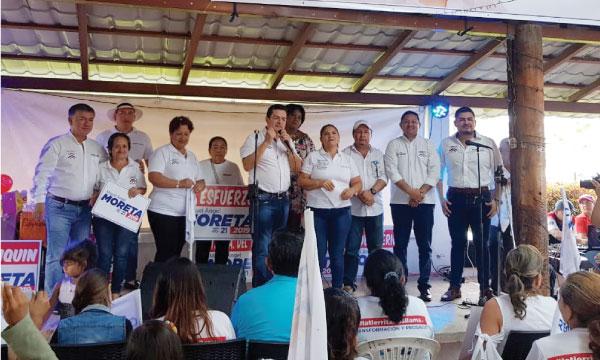 CREO Santo Domingo continúa su proceso de fortalecimiento con las bases del movimiento