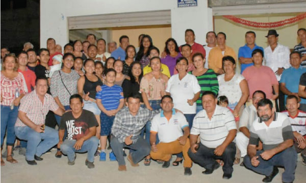 Los frentes de Jóvenes, Mujeres y Profesionales unen esfuerzos en Arenillas a través de la acción social