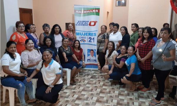 El Frente de Mujeres CREO continúa con sus brigadas sociales desde el Cantón Arenillas en El Oro