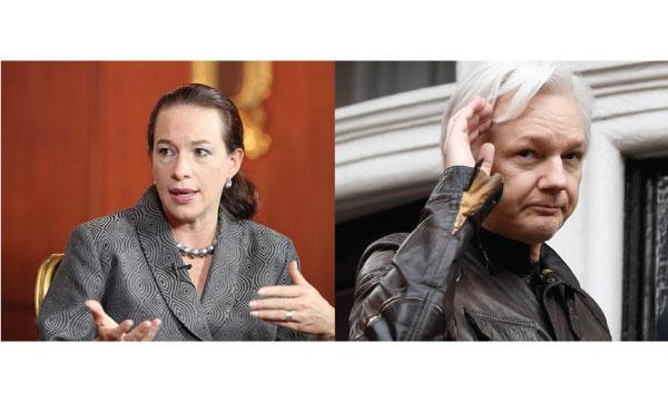 Canciller de Moreno se mantiene en silencio ante denuncias de millonarios gastos para atender a Assange