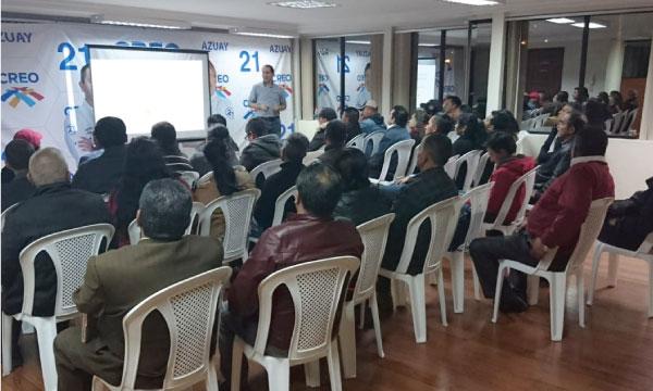 CREO Azuay dicta taller en comunicación política como parte de su programa de capacitación continúa