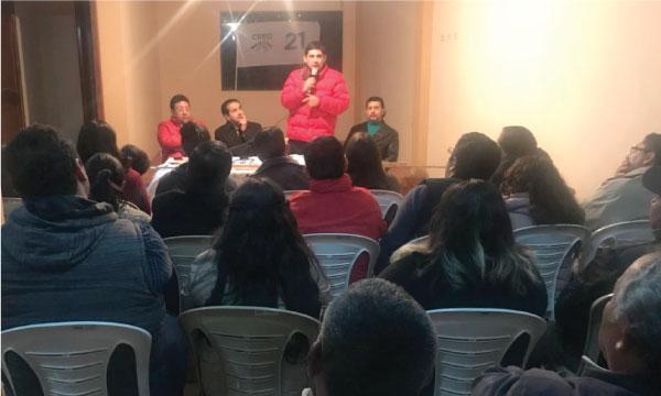Biblián se integra al trabajo territorial de CREO Cañar con miras al 2019