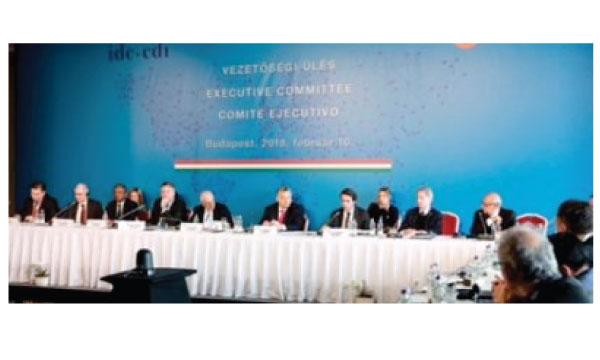 Movimiento CREO participará en Bruselas de un encuentro con los miembros de la Internacional Demócrata de Centro