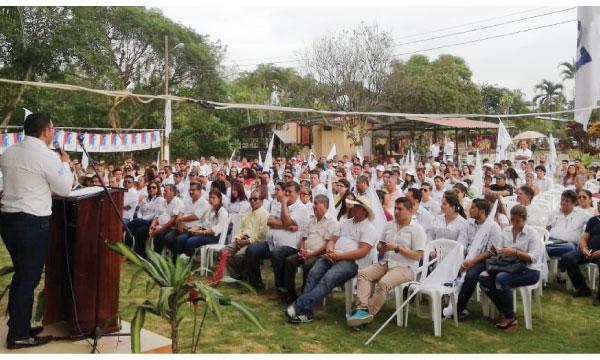 CREO Chone trabaja con sus bases para el fortalecimiento territorial del movimiento en Manabí