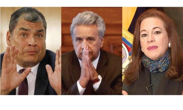 Asambleístas de la bancada de Lenín Moreno defienden y excusan a la Canciller Correísta