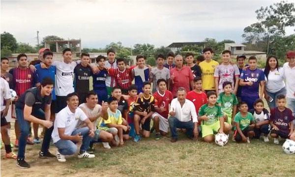 CREO cumple jornadas deportivas con el Frente de Jóvenes desde Santa Rosa en El Oro