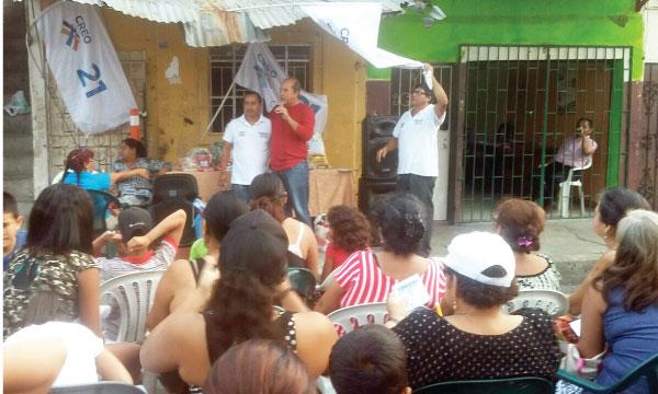 El trabajo territorial en Guayaquil para fortalecer las bases continúa desde la Parroquia Febres Cordero