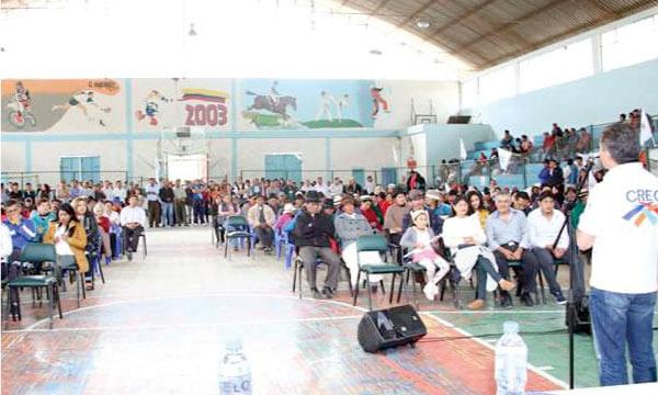 El Cantón Guano fortalece las bases del Movimiento CREO en la Provincia de Chimborazo